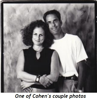 2 - Cohen couple photo