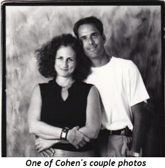 2 - Cohen couple photo