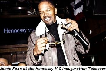 1 - Jamie Foxx at the Hennessy V.S Inauguration Takeover