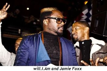 4 - Will.I.Am and Jamie Foxx