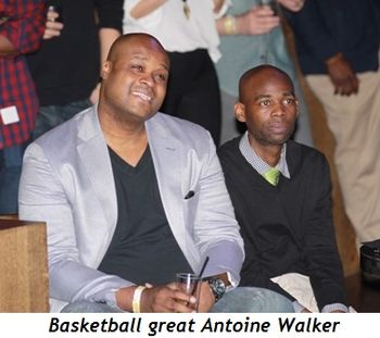 4 - Basketball great Antoine Walker
