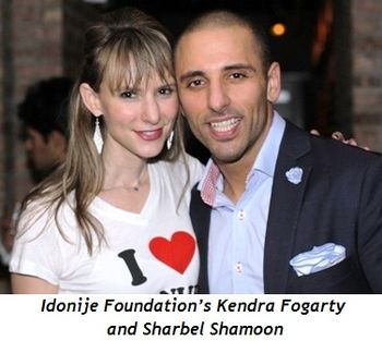 8 - Idonije Foundation's Kendra Fogarty and Sharbel Shamoon