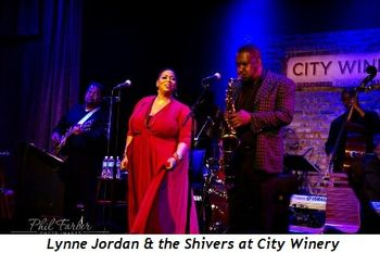 2 - Lynne Jordan & the Shivers at City Winery