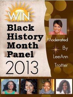 Win black history event