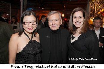 14 - Vivian Teng, Michael Kutza and Mimi Plauche