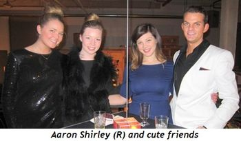 23 - Aaron Shirley (R) and cute friends