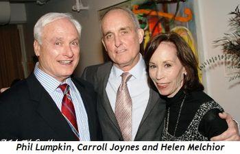 3 - Phil Lumpkin, Carroll Joynes and Helen Melchior
