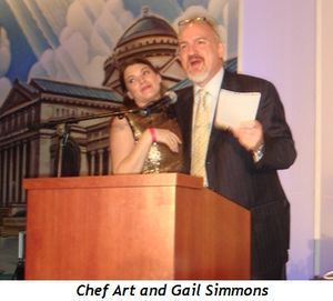 2 - Chef Art and Gail Simmons