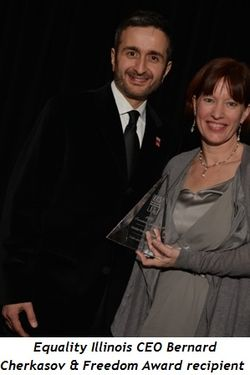 3 - Equality Illinois CEO Bernard Cherkasov and Freedom Award recipient