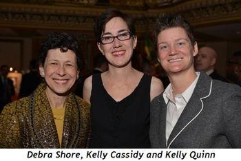 9 - Debra Shore, Kelly Cassidy and Kelly Quinn
