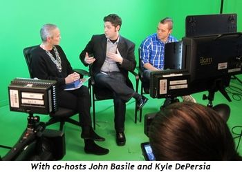 With co-hosts John Basile and Kyle DePersia