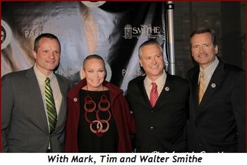 With Mark, Tim and Walter Smithe