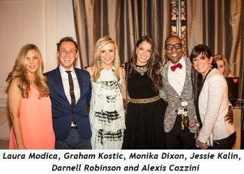 1 - Laura Modica, Graham Kostic, Monika Dixon, Jessie Kalin, Darnell Robinson, Alexis Cozzini
