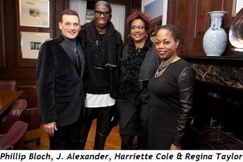 2 - Phillip Bloch, J Alexander, Harriette Cole and Regina Taylor