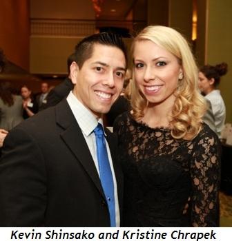 Kevin Shinsako, Kristine Chrapek