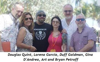 3 - Douglas Quint, Lorena Garcia, Duff Goldman, Gina D'Andrea, Art, Bryan Petroff