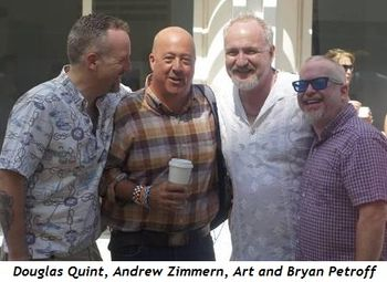 4 - Douglas Quint, Andrew Zimmern, Art and Bryan Petroff