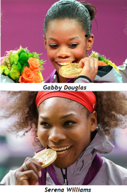 Serena-williams-gabby-douglas-olympic-gold-medals