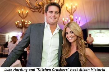 4 - Luke Harding and Kitchen Crashers' host Alison Victoria