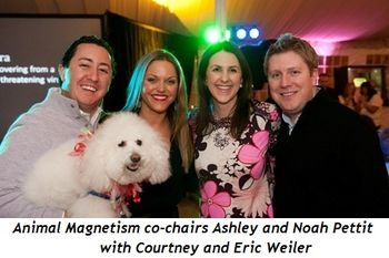 1 - Animal Magnetism co-chairs Ashley and Noah Pettit with Courtney and Eric Weiler
