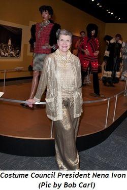 4 - Costume Council President Nena Ivon (pic by Bob Carl)