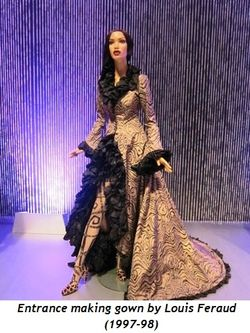 15 - Entrance making gown by Louis Feraud (1997-98)