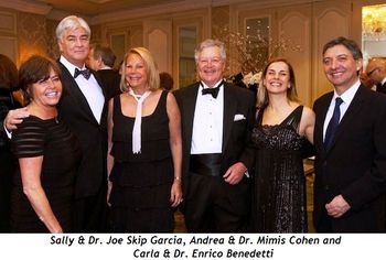 4 - Sally & Dr Joe Skip Garcia, Andrea & Dr Mimis Cohen, Carla & Dr Enrico Benedetti