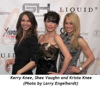 4 - Kerry Knee, Shea Vaughn, Krista Knee (Larry Engelhardt photo)