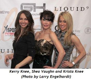4 - Kerry Knee, Shea Vaughn, Krista Knee (Larry Engelhardt photo)