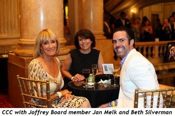 2 - CCC with Joffrey Board member Jan Melk and Beth Silverman