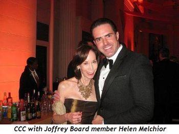 6 - CCC with Joffrey Board member Helen Melchior
