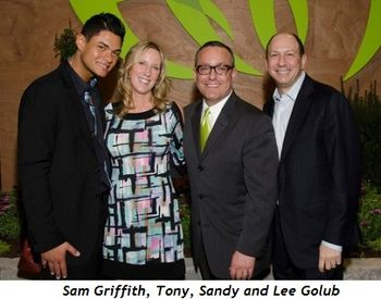 2 - Sam Griffith, Tony, Sandy and Lee Golub