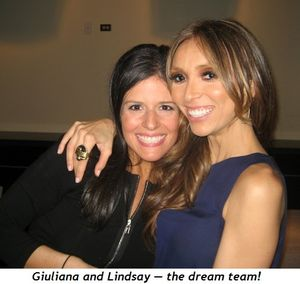 1 - Giuliana and Lindsay—the dream team!