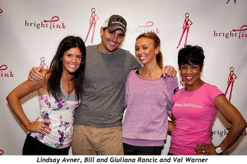 3 - Lindsay Avner, Bill and Giuliana Rancic and Val Warner