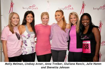 6 - Molly Melman, Lindsay Avner, Anna Treiber, Giuliana Rancic, Julie Hamm and Shenetta Johnson