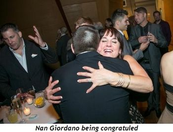7 - Nan Giordano being congratuled