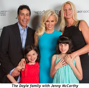 1 - The Doyle family with Jenny McCarthy