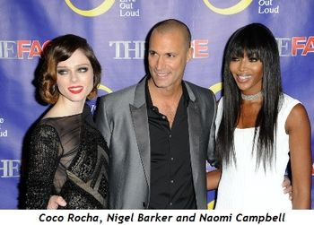 2 - Coco Rocha, Nigel Barker and Naomi Campbell