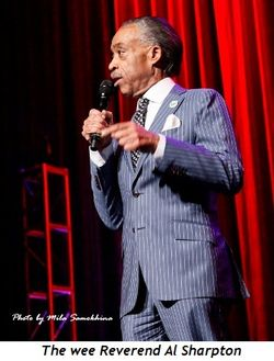 19 - The wee Reverend Al Sharpton
