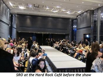 12 - SRO at the Hard Rock Café before the show