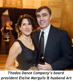 3 - Thodos Dance Company's board president Elaine Margulis and husband Art