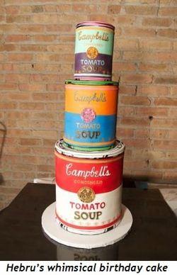 3 - Hebru's whimsical birthday cake