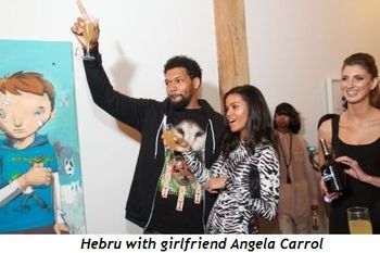 5 - Hebru with girlfriend Angela Carrol
