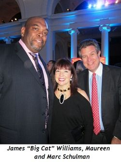 "6 - James ""Big Cat"" Williams, Maureen and Marc Schulman"