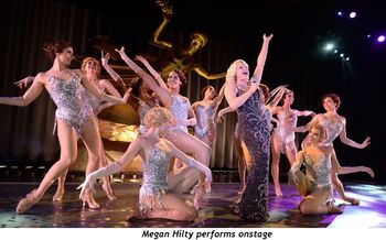 4 - Megan Hilty performs onstage