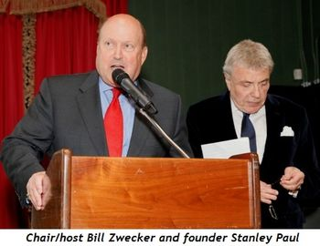 3 - Chair-host Bill Zwecker and founder Stanley Paul