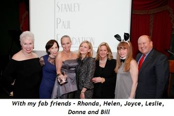 11 - With my fab friends Rhonda, Helen, Joyce, Leslie, Donna and Bill