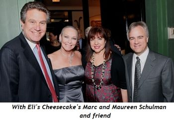 19 - With Eli's Cheesecake's Marc and Maureen Schulman and friend