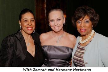 21 - With Zemrah and Hermene Hartmann