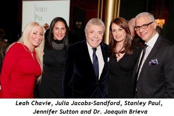 24 - With Leah Chavie, Julia Jacobs-Sandford, Jennifer Sutton and Dr. Joaquin Brieva